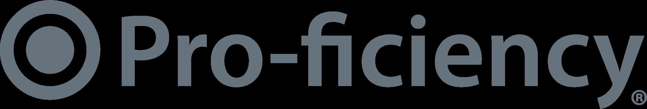 Pro-ficiency logo